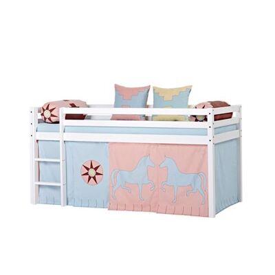 Hoppekids Forhæng, Indian Girl til halvhøj seng - Hoppekids - Babymøbler - Hoppekids