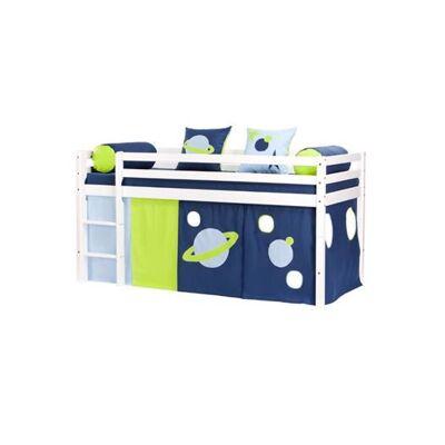 Hoppekids Forhæng, Space til halvhøj, 200 cm - Hoppekids - Babymøbler - Hoppekids