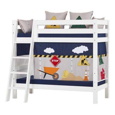 Hoppekids Forhæng, Construction til halvhøje- og etagesenge 160 cm - Hoppekids - Babymøbler - Hoppekids