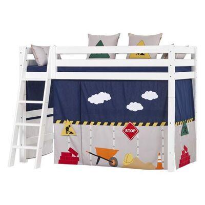 Hoppekids Forhæng, Construction til mellemhøj seng 200 cm - Hoppekids - Babymøbler - Hoppekids