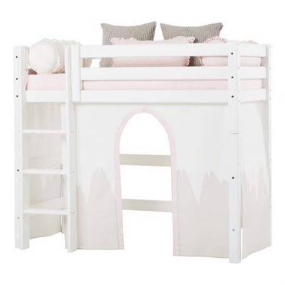 Hoppekids Forhæng, Winter Wonderland til mellemhøj seng 160 cm - Hoppekids - Babymøbler - Hoppekids