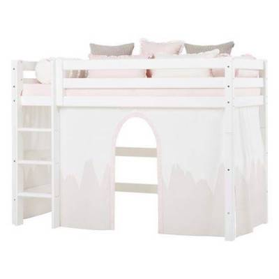 Hoppekids Forhæng, Winter Wonderland til mellemhøj seng 200 cm - Hoppekids - Babymøbler - Hoppekids