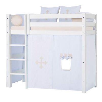 Hoppekids Forhæng, Fairytale Knight mellemhøj seng, 160 cm - Hoppekids - Babymøbler - Hoppekids