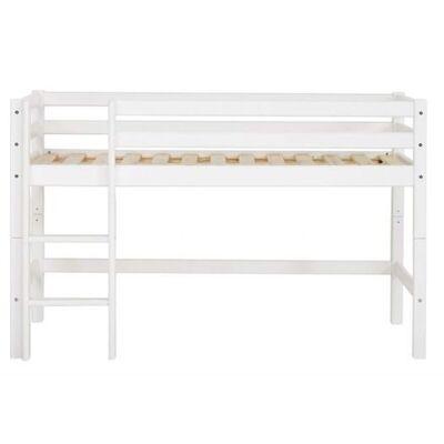 Hoppekids Halvhøj seng, Delbar 160 cm - Hoppekids - Babymøbler - Hoppekids