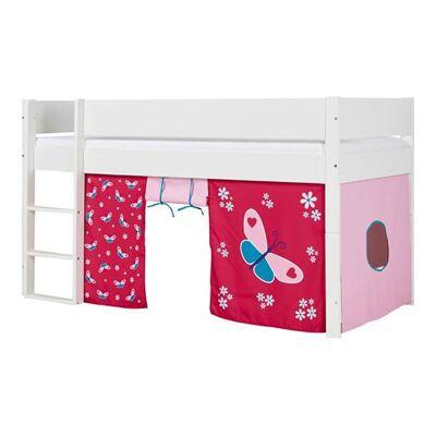 Huxie Manis-h halvhøj seng, delbar, med lilla madras - 200 cm - Babymøbler - Huxie