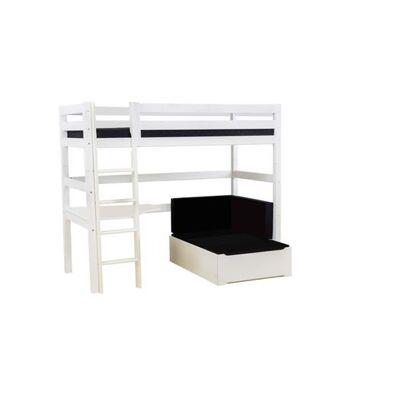 Hoppekids Højseng delbar m. skrivebord og loungemodul, 90x200 cm Premium - Hoppekids - Babymøbler - Hoppekids
