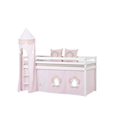 Hoppekids Tekstil pakke til senge 200 cm, FT Flower - Hoppekids - Babymøbler - Hoppekids