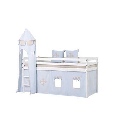 Hoppekids Tekstil pakke til senge 200 cm, FT Knight - Hoppekids - Babymøbler - Hoppekids