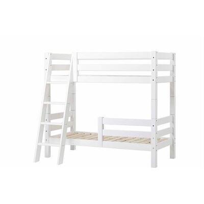 Hoppekids Køjeseng delbar m. 1/2 sengehest og skrå stige 90x200 cm, Premium - Hoppekids - Babymøbler - Hoppekids