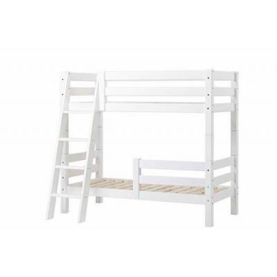 Hoppekids Køjeseng delbar m. 1/2 sengehest og skrå stige 70x160 cm, Premium - Hoppekids - Babymøbler - Hoppekids