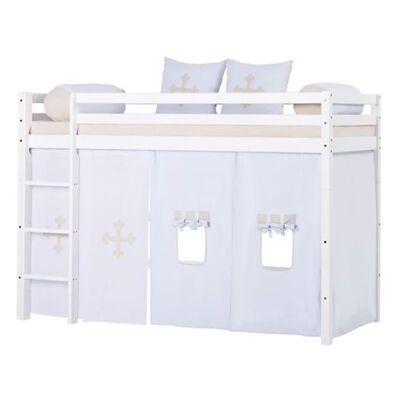 Hoppekids Forhæng, Fairytale Knight mellemhøj seng, 200 cm - Hoppekids - Babymøbler - Hoppekids