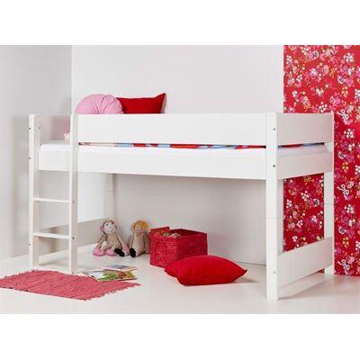 Huxie Manis-h halvhøj seng, delbar, med lilla madras - 160 cm - Babymøbler - Huxie