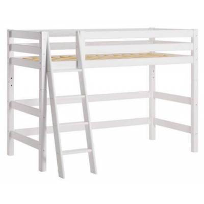 Hoppekids Mellemhøj seng delbar m. skrå stige 70x160 cm, Premium - Hoppekids - Babymøbler - Hoppekids