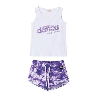 DIMENSIONE DANZA SISTERS Shorts set Girl 3-8 years - Børnetøj - DIMENSIONE DANZA SISTERS