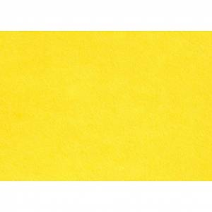 Creativ Company Hobbyfilt, gul, A4, 210x297 mm, 1,5-2 mm, 10 ark