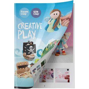 Creativ Company Inspirationshæfte, Foam Clay® og Silk Clay®, 1 stk.