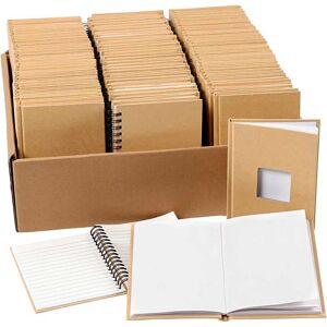 Creativ Company Notesbøger, A6, 10,5x15 cm, 32 stk., 3 stk.