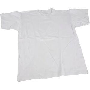 Creativ Company T-shirt, hvid, B: 52 cm, str. medium , rund hals, 1 stk.
