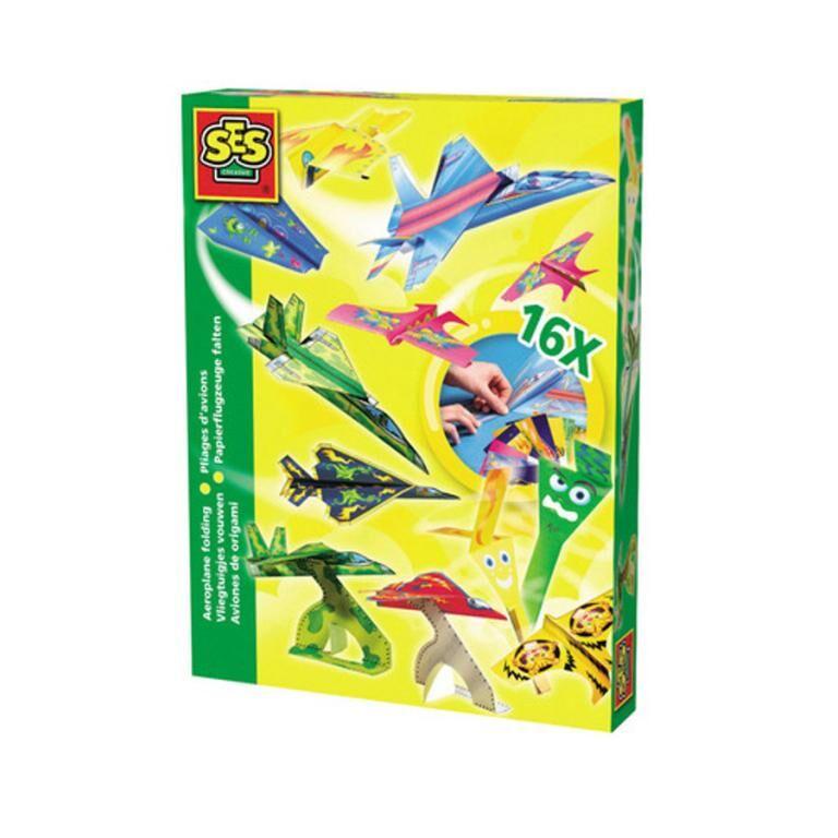 Flyvemaskine origami