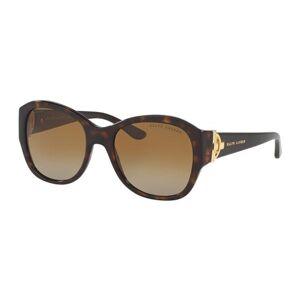 Ralph Lauren RL8148 Polarized Solbriller Tortoise 55