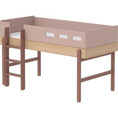 ILVA Flexa Popsicle Halvhøj seng - Babymøbler - ILVA