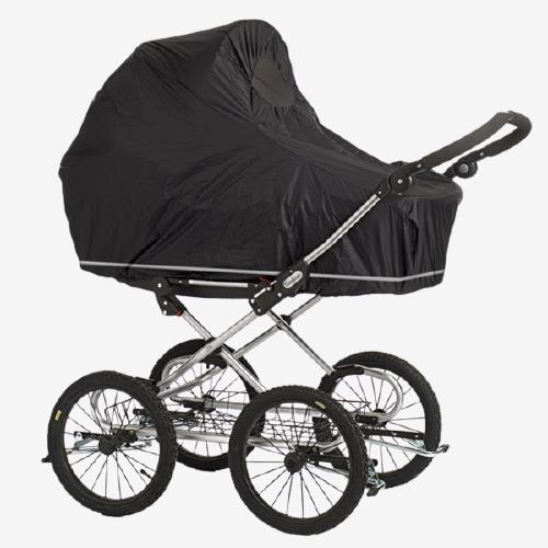 Babydan Regnslag Til Barnevognen (Stor)