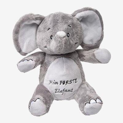 My Teddy bamse - Min første elefant - Grå - Baby Spisetid - My teddy