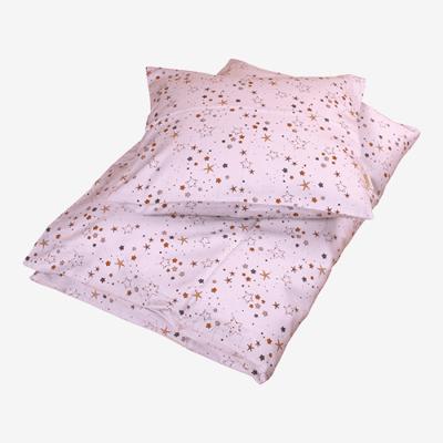 Filibabba juniorsengetøj i økologisk bomuld - Stars - Light Lavender - Baby Spisetid - Filibabba