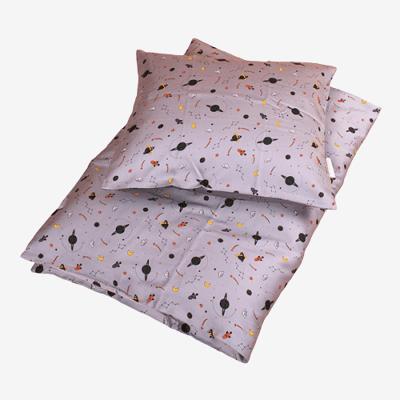Filibabba babysengetøj i økologisk bomuld - Space - Grey - Baby Spisetid - Filibabba