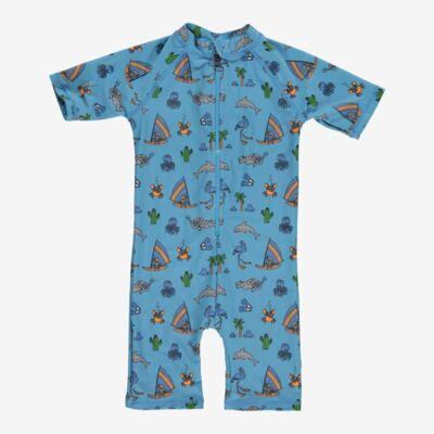 Småfolk svømmedragt/swimsuit - Blå - Baby Spisetid - Småfolk