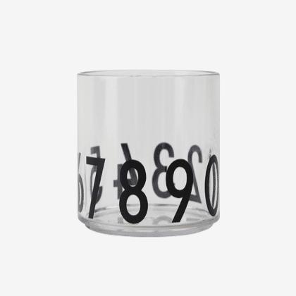 Design Letters Tritan Glas - 1 2 3