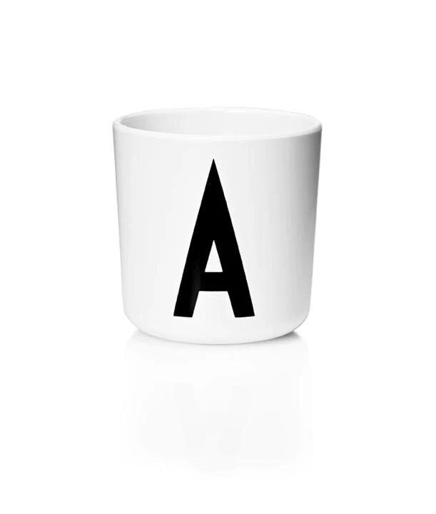 Design Letters Melamin Kop Med Bogstav - A