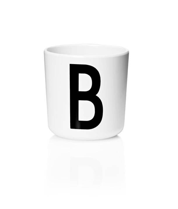 Design Letters Melamin Kop Med Bogstav - B
