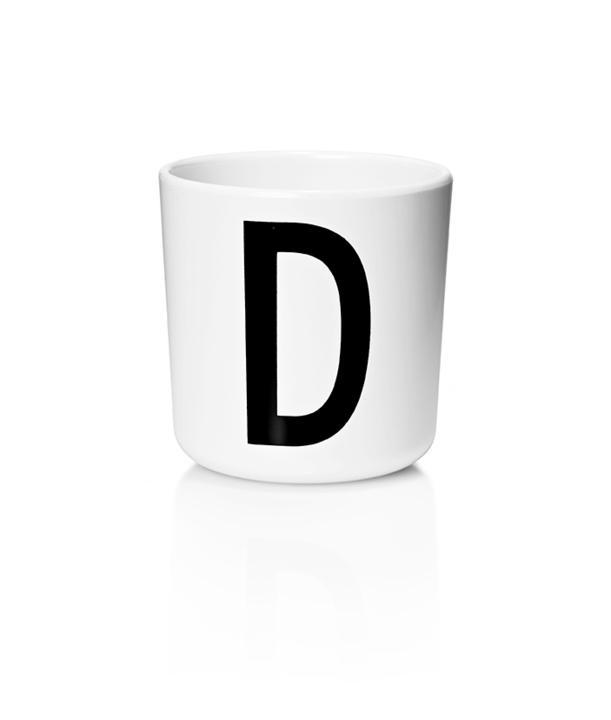 Design Letters Melamin Kop Med Bogstav - D