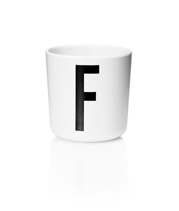 Design Letters Melamin Kop Med Bogstav - F