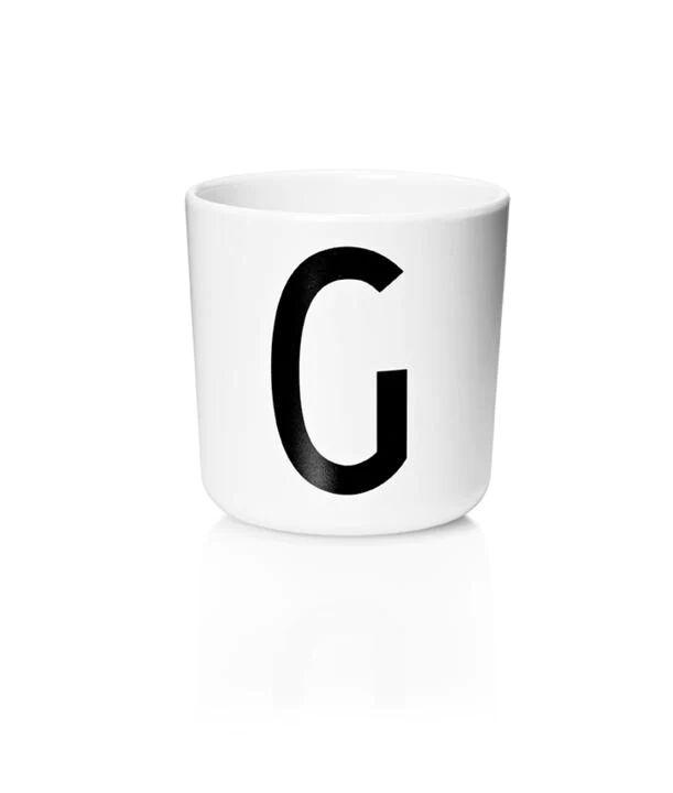 Design Letters Melamin Kop Med Bogstav - G