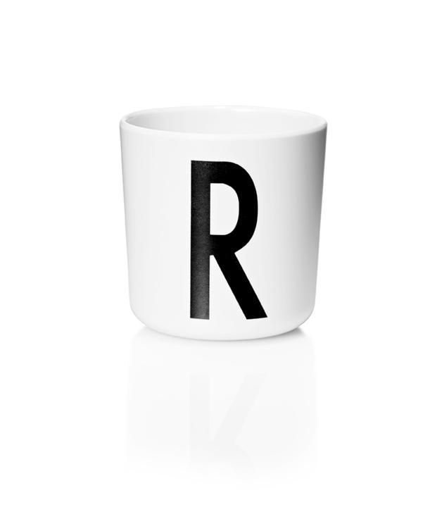 Design Letters Melamin Kop Med Bogstav - R