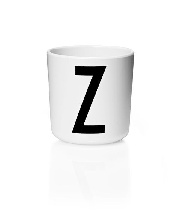 Design Letters Melamin Kop Med Bogstav - Z