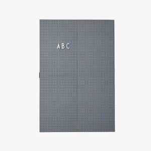Design Letters A3 Letter Board - Mørkegrå