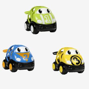 Oball Go Grippers biler (3-pak) - Blå/gul/grøn