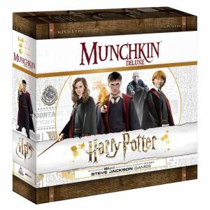 Harry Potter Munchkin Deluxe: Harry Potter Card Game