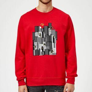 Pixar The Incredibles 2 Skyline Sweatshirt - Red - XL - Red