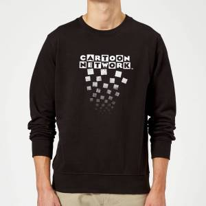 Cartoon Network Logo Fade Sweatshirt - Black - XL - Black