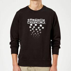 Cartoon Network Logo Fade Sweatshirt - Black - XXL - Black