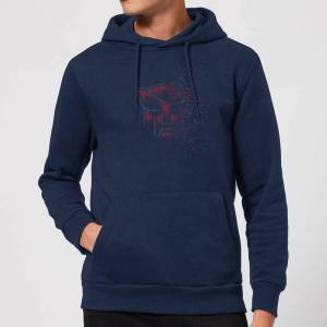 Transformers Autobot Fade Hoodie - Navy - L - Navy