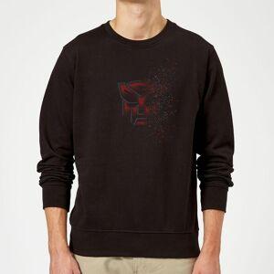 Transformers Autobot Fade Sweatshirt - Black - L - Black