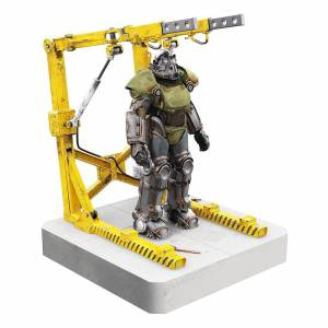 Power Factory Fallout T-51 Power Armor and Cradle 4 Port USB Hub 28cm