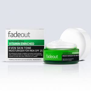 Fade Out Advanced + Vitamin Enriched Moisturiser for Men SPF 25 50ml