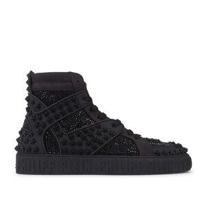 Philipp Plein Hi-Top Sneakers Crystal Black Sort