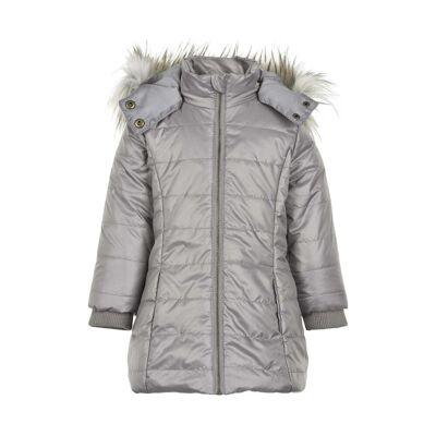 Creamie - Jacket Padded (840002) - Steeple Gray - Børnetøj - Creamie